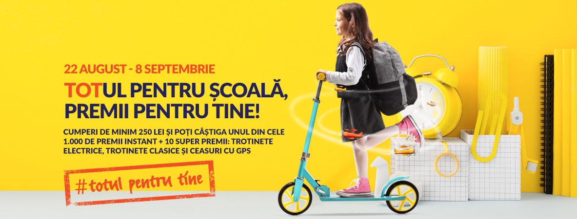 militari shopping back to school campanie